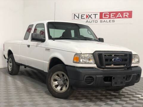 2008 Ford Ranger for sale at Next Gear Auto Sales in Westfield IN