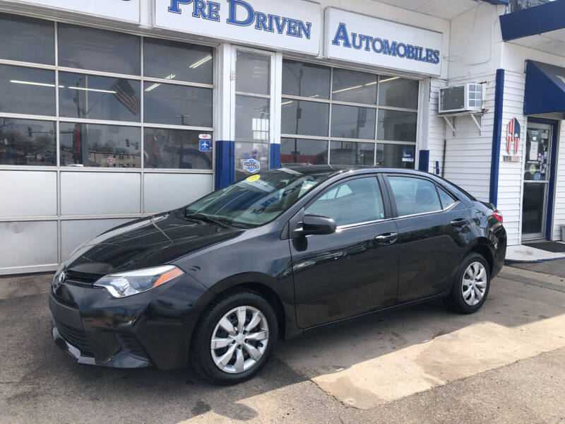 2014 Toyota Corolla for sale at Jack E. Stewart's Northwest Auto Sales, Inc. in Chicago IL
