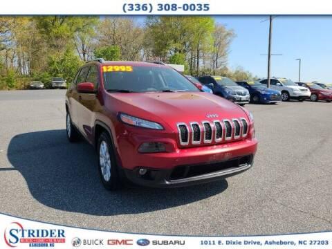 2014 Jeep Cherokee for sale at STRIDER BUICK GMC SUBARU in Asheboro NC