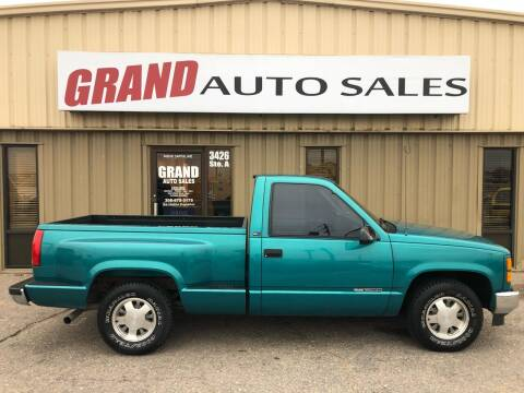 1994 GMC Sierra 1500 for sale at GRAND AUTO SALES in Grand Island NE