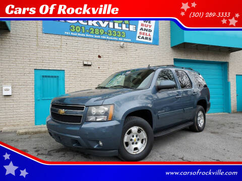 2010 Chevrolet Tahoe for sale at Cars Of Rockville in Rockville MD