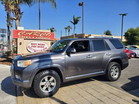 2010 Toyota 4Runner for sale at CARCO SALES & FINANCE #3 in Chula Vista CA
