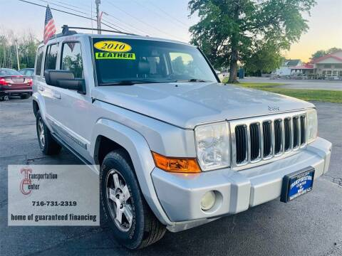 2010 Jeep Commander for sale at Transportation Center Of Western New York in Niagara Falls NY
