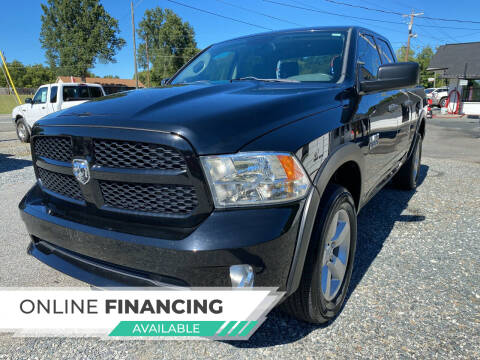 2014 RAM Ram Pickup 1500 for sale at Auto Store of NC in Walkertown NC