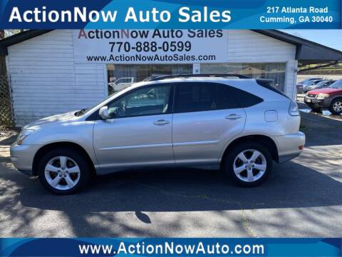 2006 Lexus RX 330 for sale at ACTION NOW AUTO SALES in Cumming GA