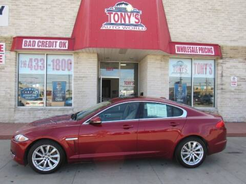 2012 Jaguar XF for sale at Tony's Auto World in Cleveland OH