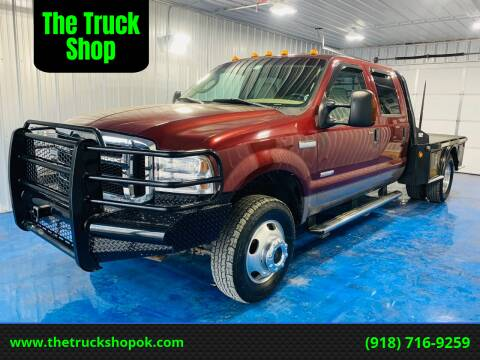 2006 Ford F-350 Super Duty for sale at The Truck Shop in Okemah OK