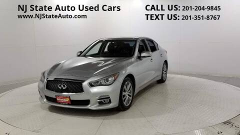 2014 Infiniti Q50 for sale at NJ State Auto Auction in Jersey City NJ
