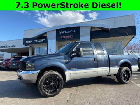 2001 Ford F-250 Super Duty for sale at Mark Sweeney Buick GMC in Cincinnati OH