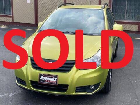 2013 Suzuki SX4 Crossover for sale at Anamaks Motors LLC in Hudson NH