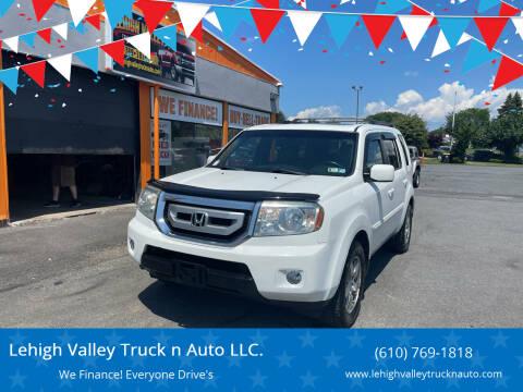 2011 Honda Pilot for sale at Lehigh Valley Truck n Auto LLC. in Schnecksville PA