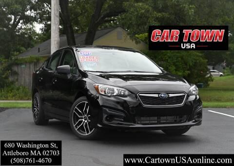 2017 Subaru Impreza for sale at Car Town USA in Attleboro MA
