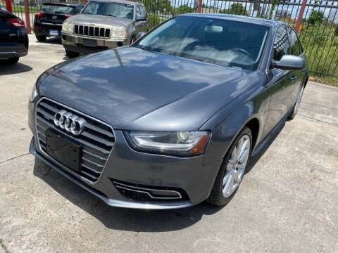 2016 Audi A4 for sale at Sam's Auto Sales in Houston TX