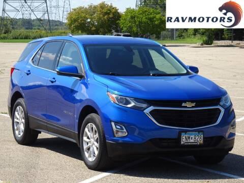 2019 Chevrolet Equinox for sale at RAVMOTORS in Burnsville MN