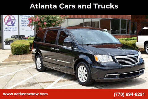 2016 Chrysler Town and Country for sale at Atlanta Cars and Trucks in Kennesaw GA