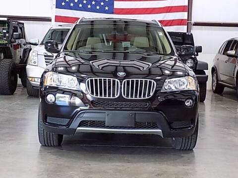 2012 BMW X3 for sale at Texas Motor Sport in Houston TX
