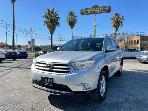 2011 Toyota Highlander for sale at A MOTORS SALES AND FINANCE in San Antonio TX