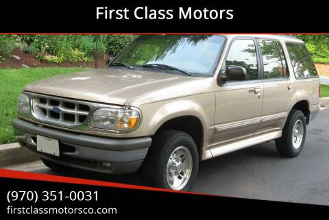 1996 Ford Explorer for sale at First Class Motors in Greeley CO