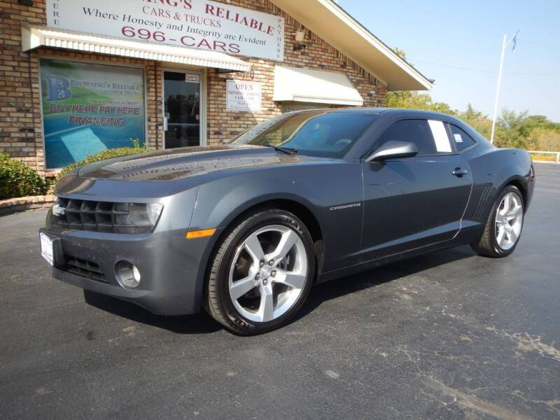 2010 Chevrolet Camaro for sale at Browning's Reliable Cars & Trucks in Wichita Falls TX