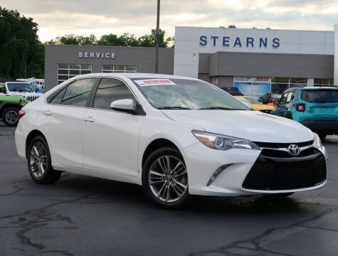 2017 Toyota Camry for sale at Stearns Ford in Burlington NC