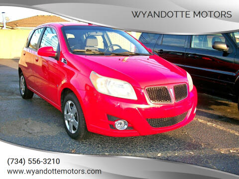 2009 Pontiac G3 for sale at Wyandotte Motors in Wyandotte MI