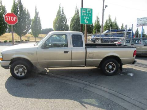 2000 Ford Ranger for sale at Car Link Auto Sales LLC in Marysville WA