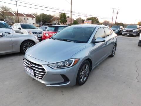 2017 Hyundai Elantra for sale at AMD AUTO in San Antonio TX