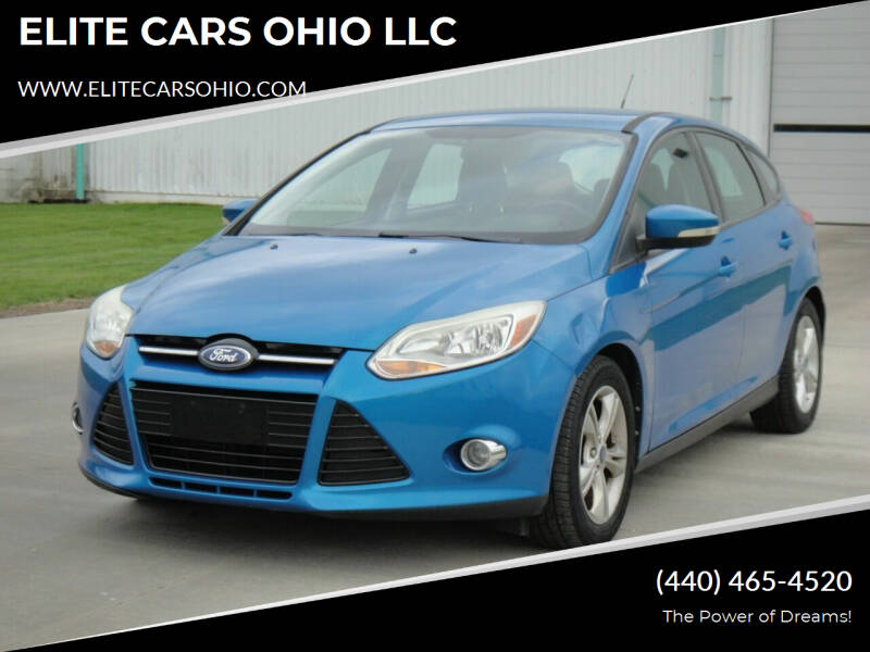 2012 Ford Focus for sale at ELITE CARS OHIO LLC in Solon OH