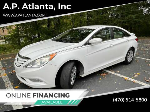 2013 Hyundai Sonata for sale at A.P. Atlanta, Inc in Sandy Springs GA