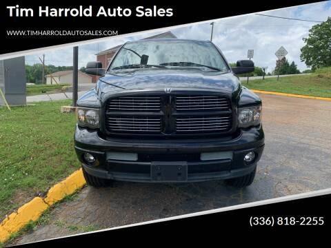 2003 Dodge Ram Pickup 2500 for sale at Tim Harrold Auto Sales in Wilkesboro NC