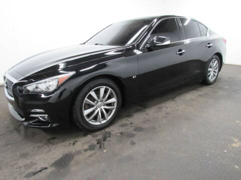2015 Infiniti Q50 for sale at Automotive Connection in Fairfield OH