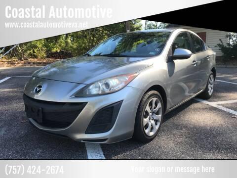 2011 Mazda MAZDA3 for sale at Coastal Automotive in Virginia Beach VA