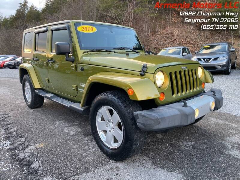 2010 Jeep Wrangler Unlimited for sale at Armenia Motors in Seymour TN
