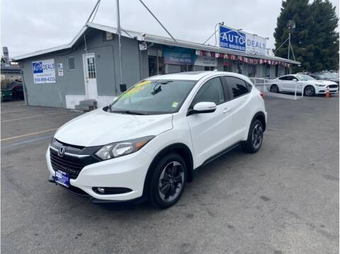 2018 Honda HR-V for sale at AutoDeals in Daly City CA