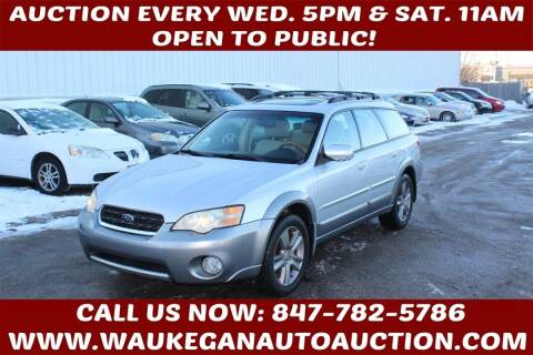 2006 Subaru Outback for sale at Waukegan Auto Auction in Waukegan IL