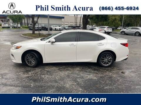 2018 Lexus ES 350 for sale at PHIL SMITH AUTOMOTIVE GROUP - Phil Smith Acura in Pompano Beach FL