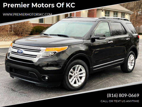 2013 Ford Explorer for sale at Premier Motors of KC in Kansas City MO