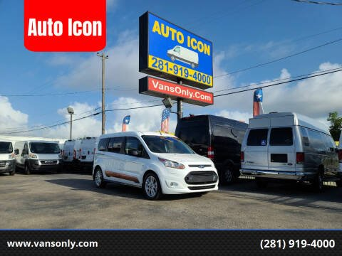 2016 Ford Transit Connect Wagon for sale at Auto Icon in Houston TX