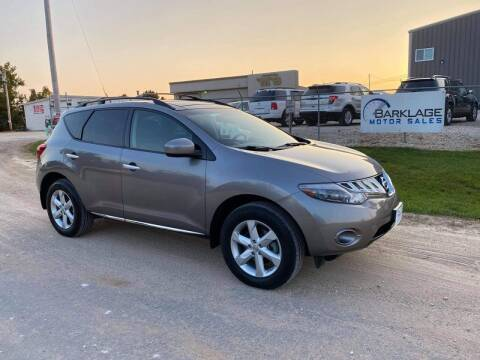 2010 Nissan Murano for sale at BARKLAGE MOTOR SALES in Eldon MO