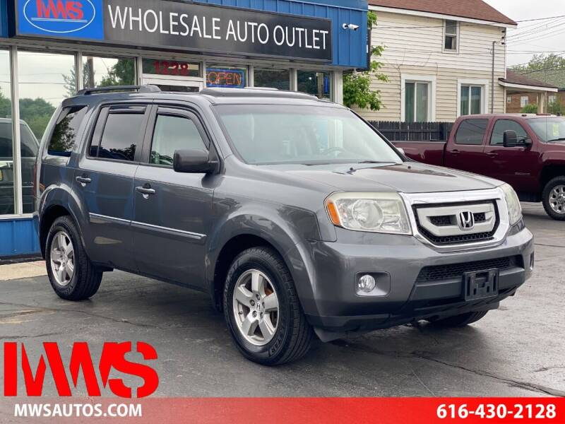 2010 Honda Pilot for sale at MWS Wholesale  Auto Outlet in Grand Rapids MI