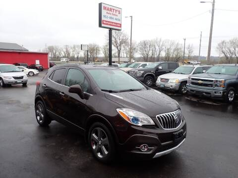 2013 Buick Encore for sale at Marty's Auto Sales in Savage MN