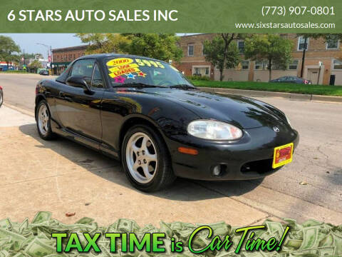 2000 Mazda MX-5 Miata for sale at 6 STARS AUTO SALES INC in Chicago IL