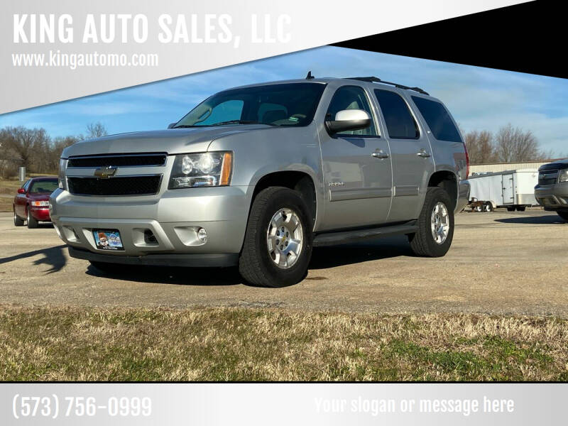 2010 Chevrolet Tahoe for sale at KING AUTO SALES, LLC in Farmington MO