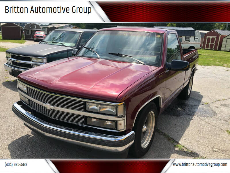 1988 Chevrolet C/K 1500 Series for sale at Britton Automotive Group in Loganville GA