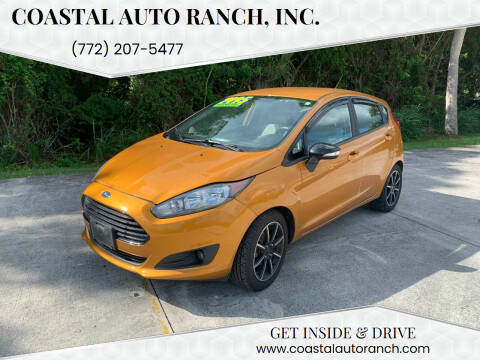2016 Ford Fiesta for sale at Coastal Auto Ranch, Inc. in Port Saint Lucie FL