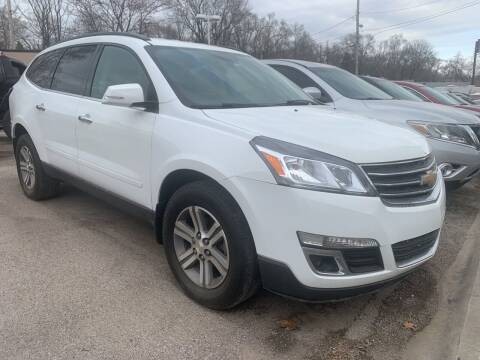 2016 Chevrolet Traverse for sale at Triangle Auto Sales in Omaha NE