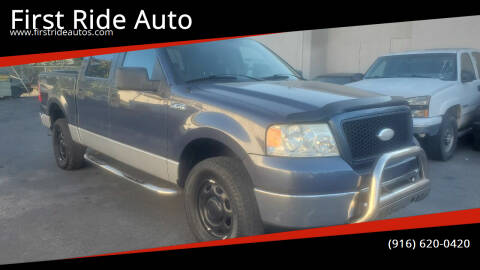 2006 Ford F-150 for sale at First Ride Auto in Sacramento CA
