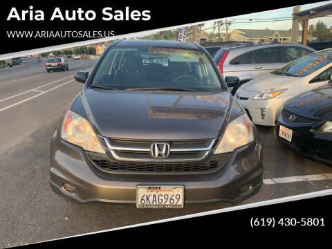 2010 Honda CR-V for sale at Aria Auto Sales in El Cajon CA