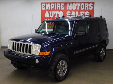 2006 Jeep Commander for sale at EMPIRE MOTORS AUTO SALES in Philadelphia PA