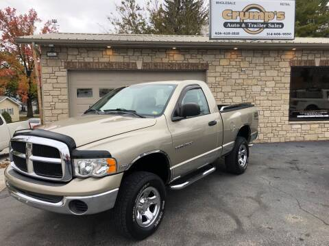 2005 Dodge Ram Pickup 1500 for sale at CRUMP'S AUTO & TRAILER SALES in Crystal City MO